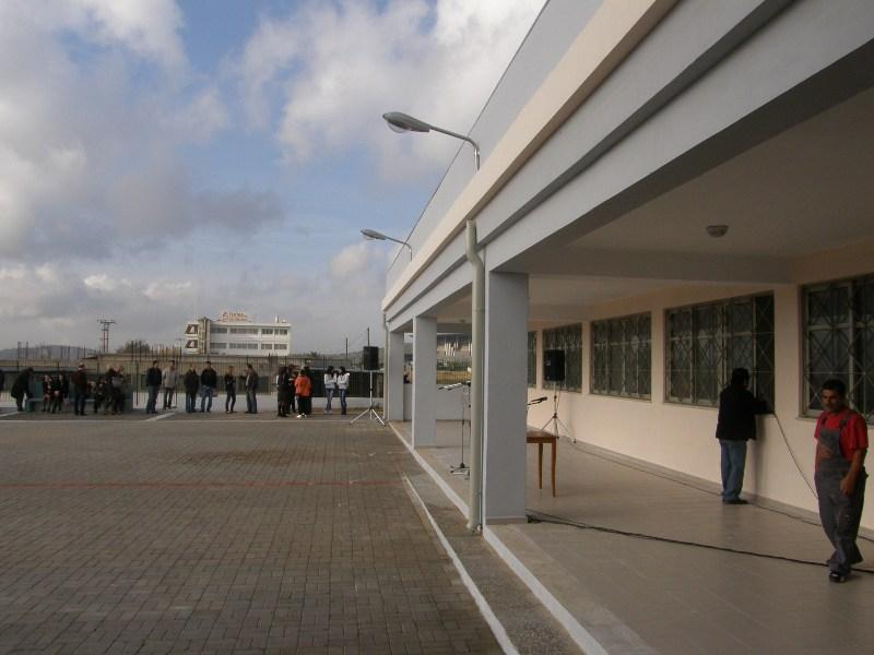 Εγκαταστάσεις ΕΠΑΛ Άνω Λιοσίων,Νέο Κτίριο